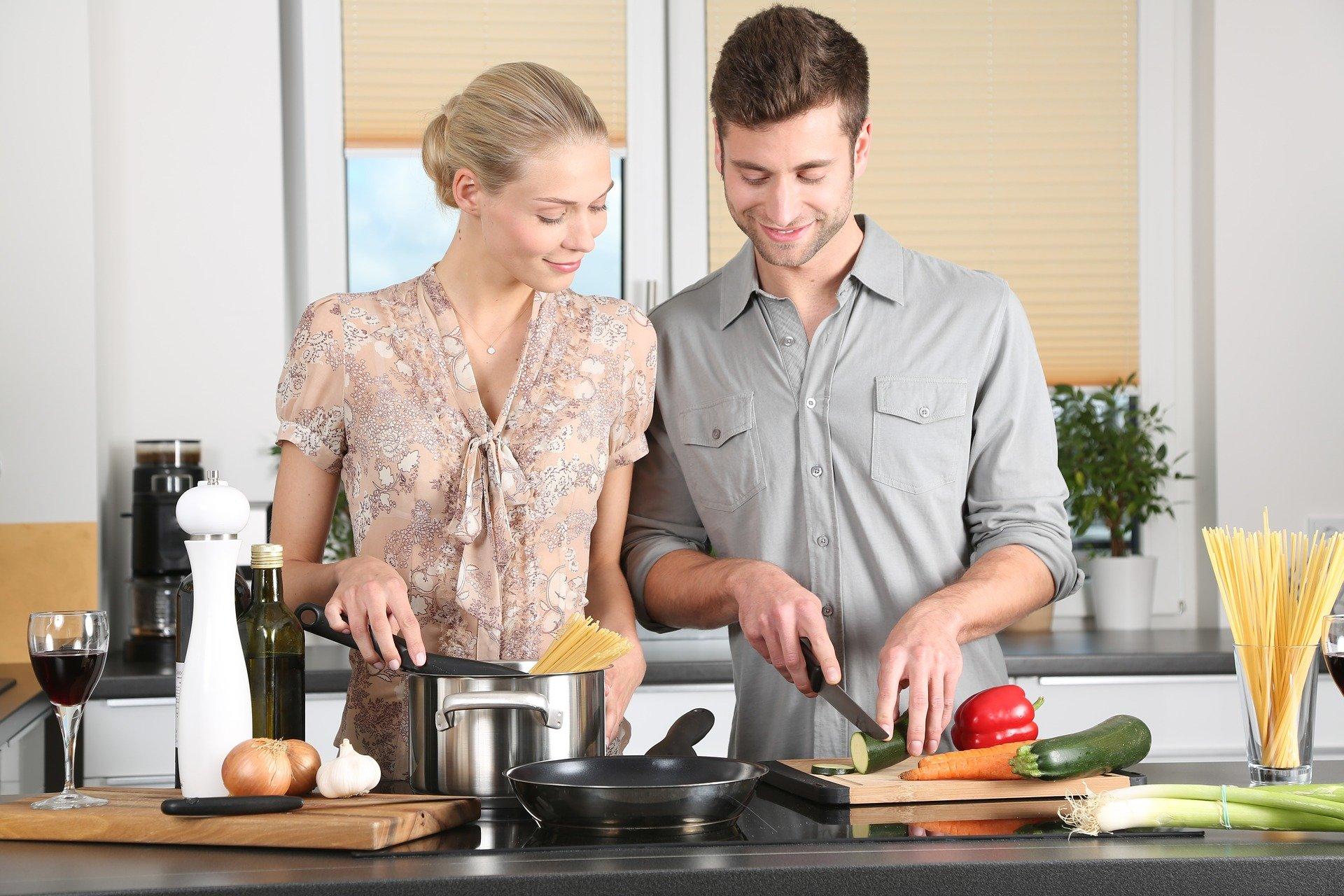 koken in keuken